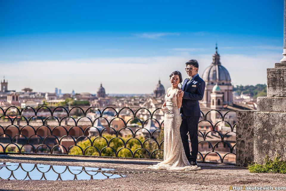 Villa Borghese view